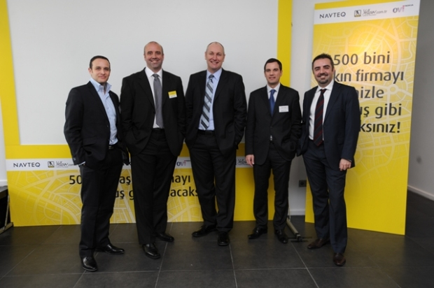 Navteq and Turkey Yellow Pages Teams