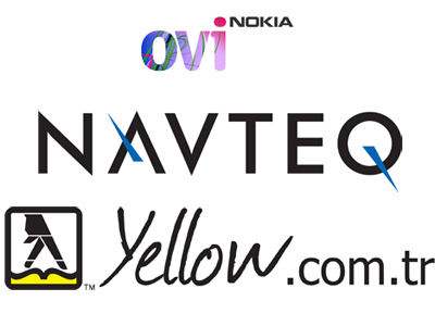Turkey Yellow Pages Partners with Navteq and Nokia