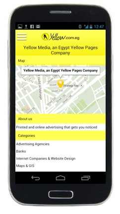 Yellow Pages Android App