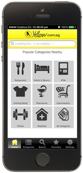 Yellow Pages New iPhone App