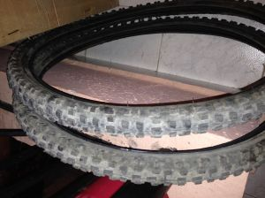 Old MTB Tyres